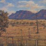 Point Bonney from Wilpena Woolshed
